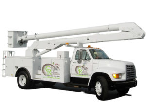 CR TREE SERVICES TRUCK